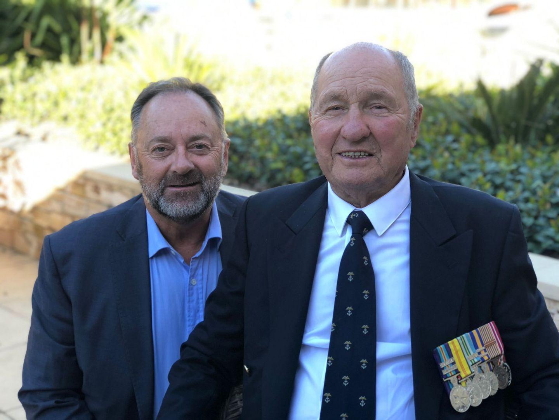Steve Collins and John Perrett