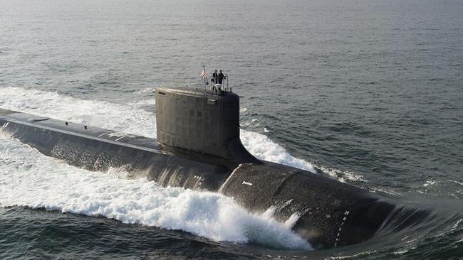 he Virginia-class USS North Dakota submarine